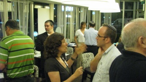 Mingling at 2nd Entrepreneur Networking Event in Raanana